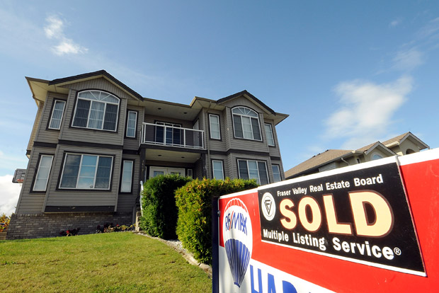 Canadian Existing Home Sales Up 2.7 Per Cent in September