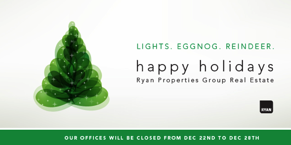 Happy Holidays from Ryan Properties