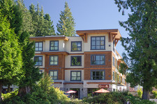 2 bedroom suite in Nature's Cove: Top floor, huge deck, sunny and bright with fabulous layout!