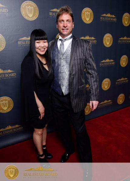 Doris Gee and Phil Moore REBGV Medallion Club