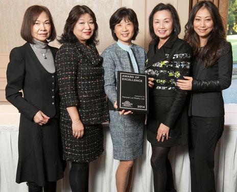 #1 Sales Award Presented to Manyee's Team