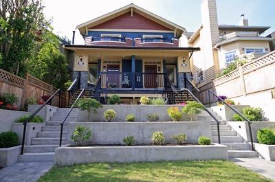 Vancouver Luxury property. City & Mountain views. 3 level Half Duplex, 4 bdrms.