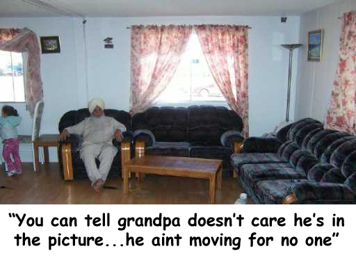 grandpa aint moving