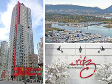 Coal Harbour Condo for sale:  3 bedroom 1,269 sq.ft. (Listed 2016-11-03)
