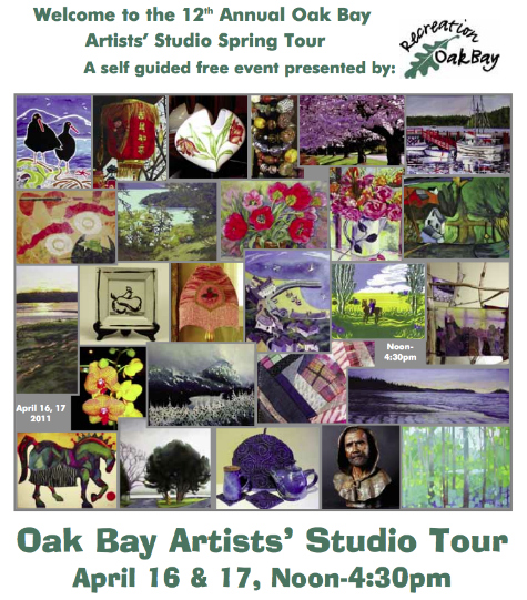 Oak Bay Artists Studio Tour 04-11