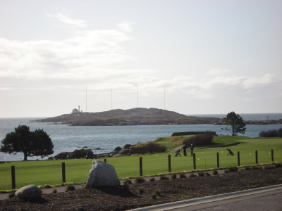 Oak Bay, Victoria Golf Club View