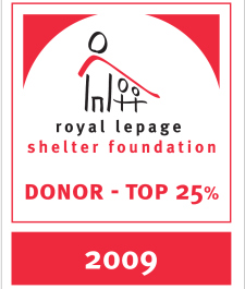 Royal LePage Top 25 Donor 2009.jpg