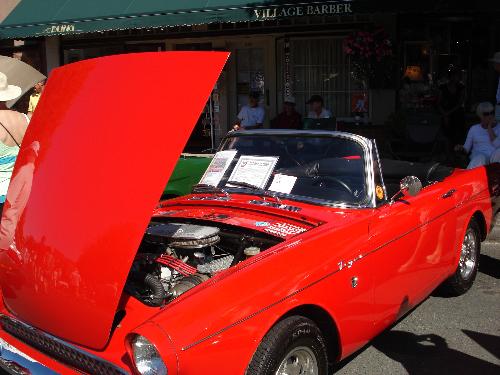 Oak Bay Collector Car 1966 Sunbeam Tiger