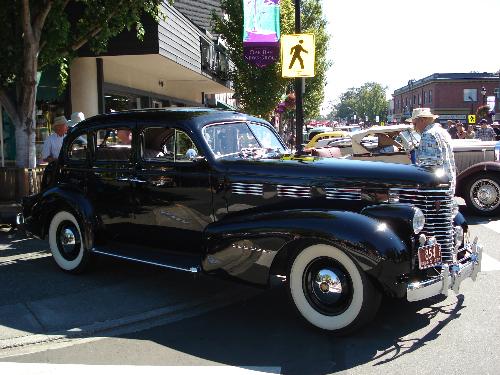 Oak Bay Collector Car Festival 1938 Cadillac