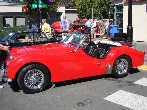 Oak Bay Collector Car Festival MG