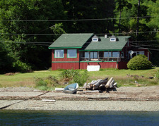 Quatsino  Oceanfront Home for sale:    (Listed 2015-02-25)