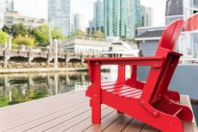 Coal Harbour Float Home for sale: Coal Harbour Marina   Hardwood Floors 332 sq.ft. (Listed 2017-04-20)