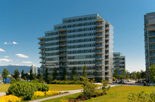 Stunning False Creek Condo with 180 degree views for sale at Canada House,  3 bedrooms & 3 1/2 baths in 3,043 sq.ft. located at 181 Athletes Way in Vancouver, BC