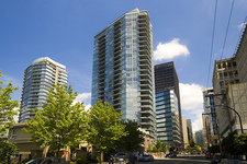 Coal Harbour View Apartment for sale at Cielo - 1302-1205 West Hasting sStreet in Vancouver, BC. 2 bedrooms & 2 bathrooms in 1,276 sq.ft.