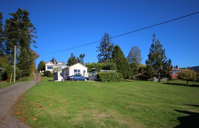 Waterfront Acreage in Sooke For Sale - House w/suites and 2 cottages. Flexible development options, revenue!