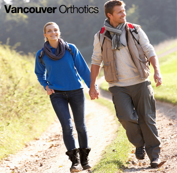 Happy Vancouver Orthotics Couple Promo