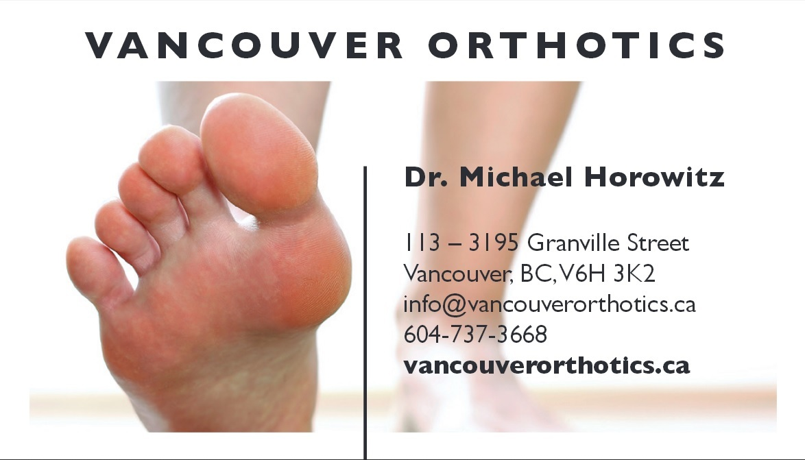 Vancouver Orthotics Foot Pain 6