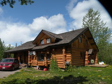 Telkwa BC ~ Log House with Acreage for Sale