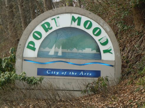 Port Moody Sign