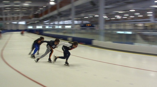 Skating Fort St John Enerplex Kevin Jagger Long Track Long Shot Long Track Speed Skating