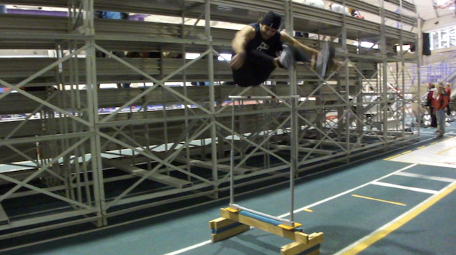 62 Inch Hurdle Jump Kevin Jagger Long Track Long Shot Speed Skating Amateur Athlete Blog Canada