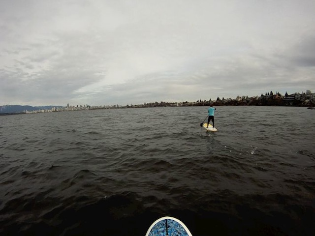 Rich Tamplin English Bay Long Track Long Shot Speed Skating Kevin Jagger Learning How to Stand Up Paddle Board.jpg