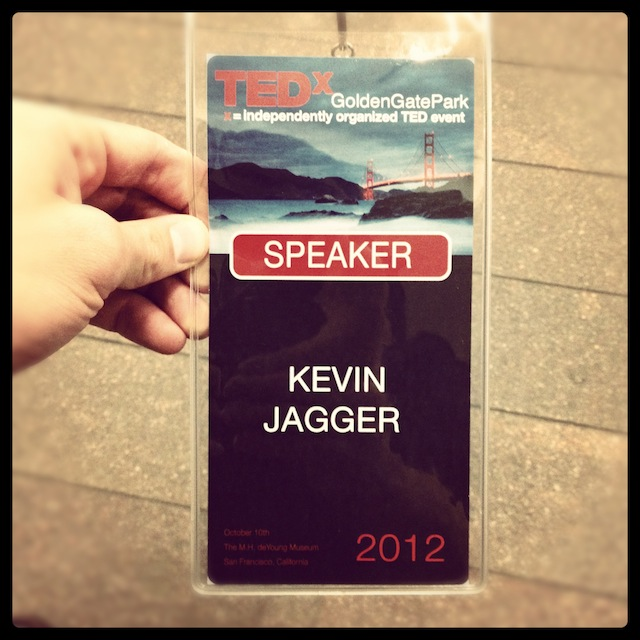 Accedidation Kevin Jagger speaking at TEDx Golden Gate Park San Francisco Inspirational Talk.jpg