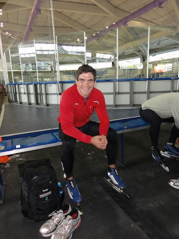 Kevin Jagger Long Track Long Shot Calgary Olympic Oval Masters Speed Camp