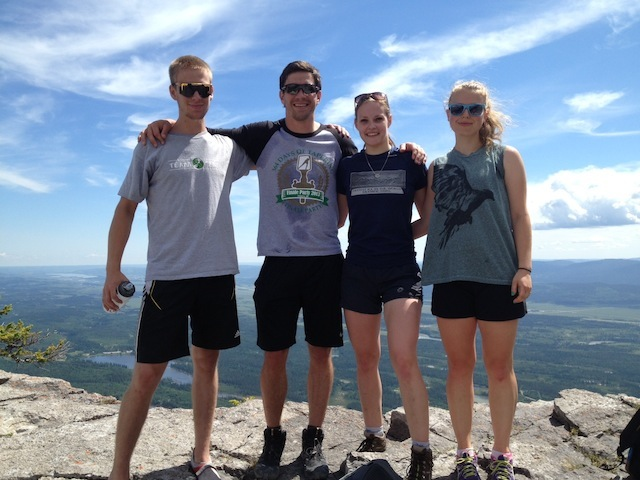 Team Catalyst at summit of Mount Yamnuska Alberta Hiking.jpg