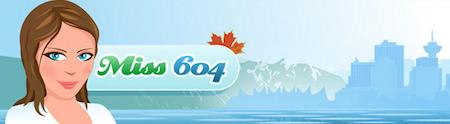 Miss604.com Banner