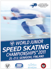2011 ISU World Junior Championships Long Track Speed Skating Finland