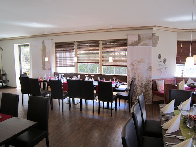 Inside Restaurant Ivanie Blondin Inzell Germany 2011 World Single Distance Championships.JPG