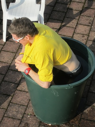 Phil Ice Bath Ivanie Blondin Inzell Germany 2011 World Single Distance Championships.JPG
