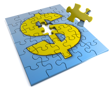 dollar sign jigsaw