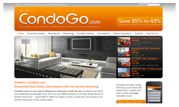 Ian Watt CondoGo Web Marketing Vancouver Condos