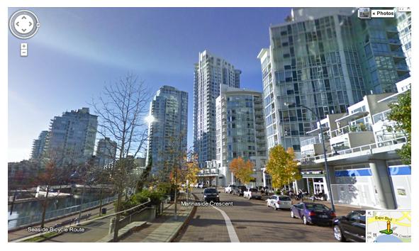 Ian Watt Google Street View Vancouver Condo