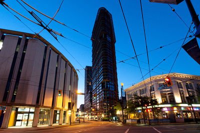 Gastown Gastown Condo for sale: Woodwards 1 bedroom 639 sq.ft. (Listed 2014-04-25)