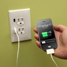 wall outlet with usb