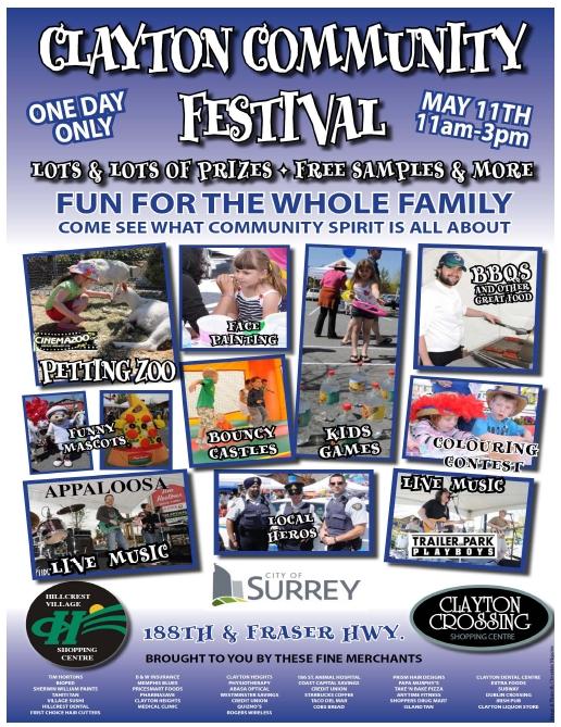Clayton Community Festival