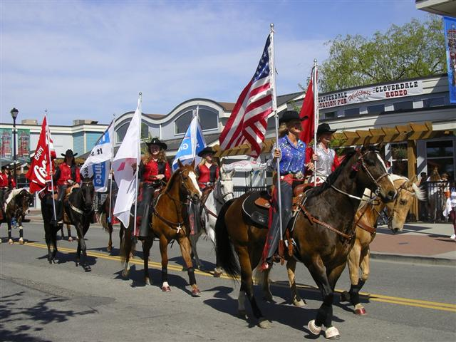 Cloverdale parade