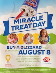 Miracle Treat Day Dairy Queen