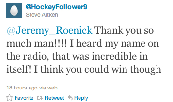 Roenick Blog 1