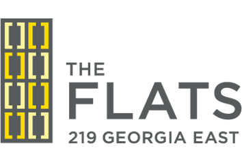 The Flats (219 E Georgia) Logo - CrosstownCondos.com