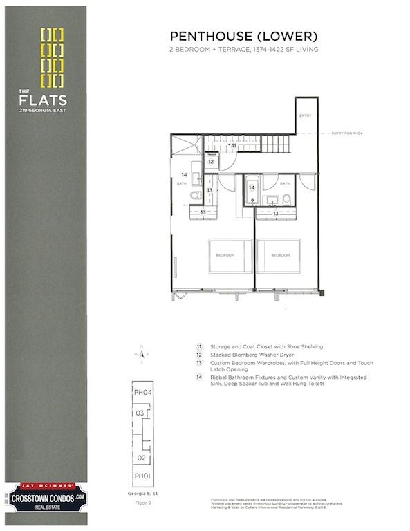 219 E Georgia Street (Plan Lower Penthouse) small.jpg