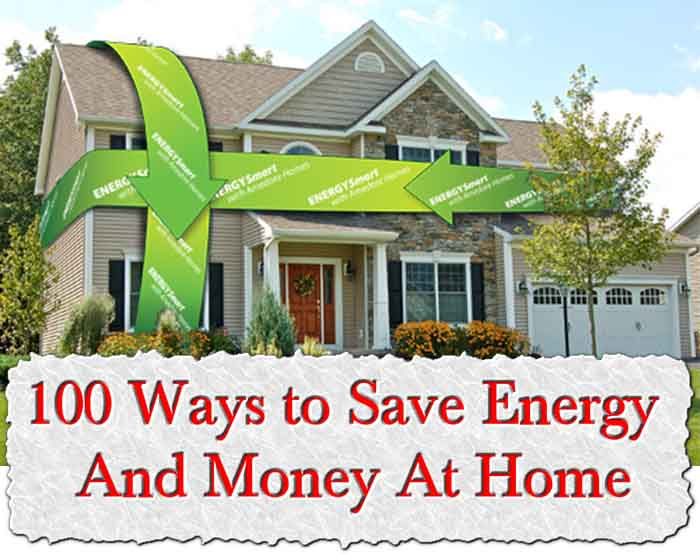 Blog 100 ways to save energy at home for Ways to save for a house
