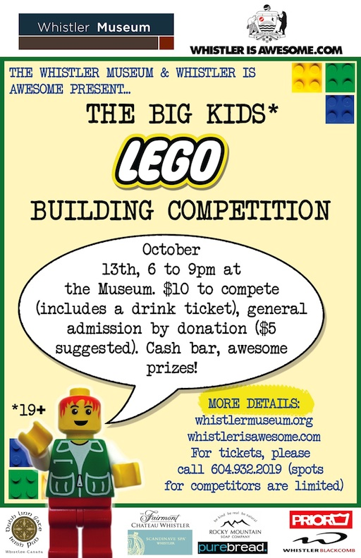 Big Kids LEGO Poster