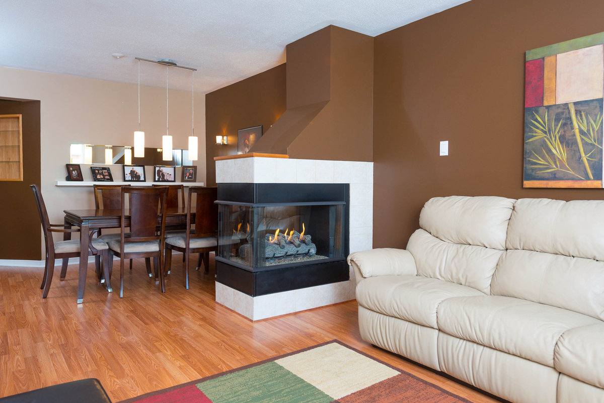 Open house at 1590 cedar mills sunday november 17th for Three way fireplace