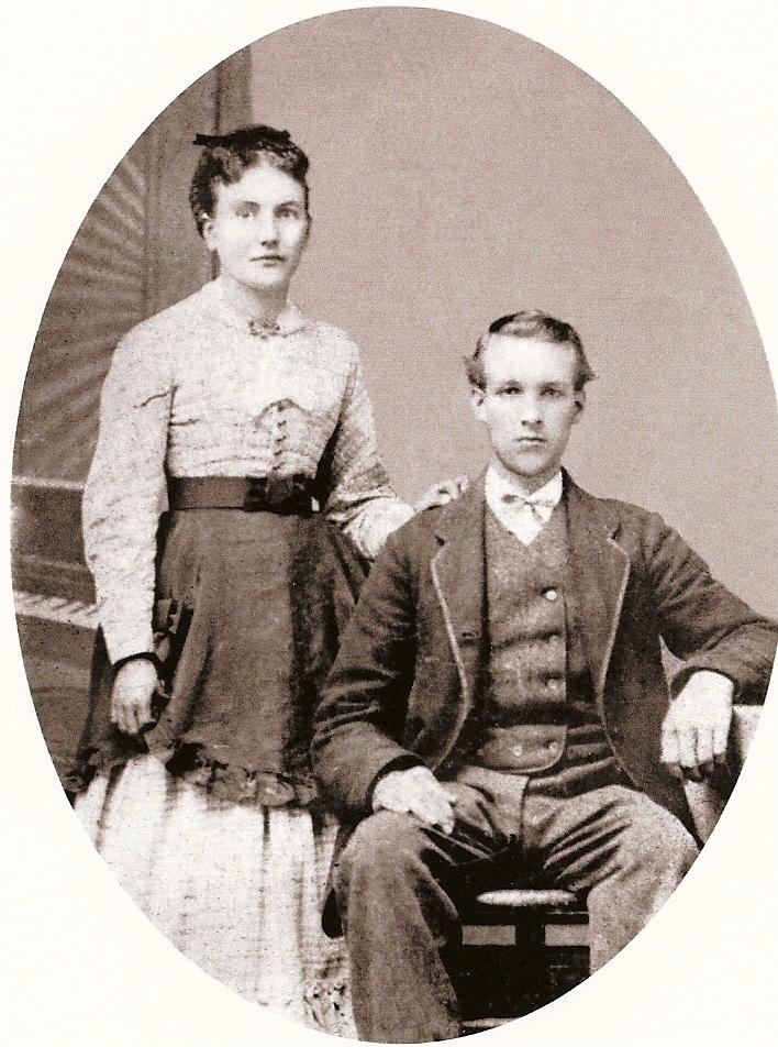 Boyce, Margaret (Waldie) & James wedding