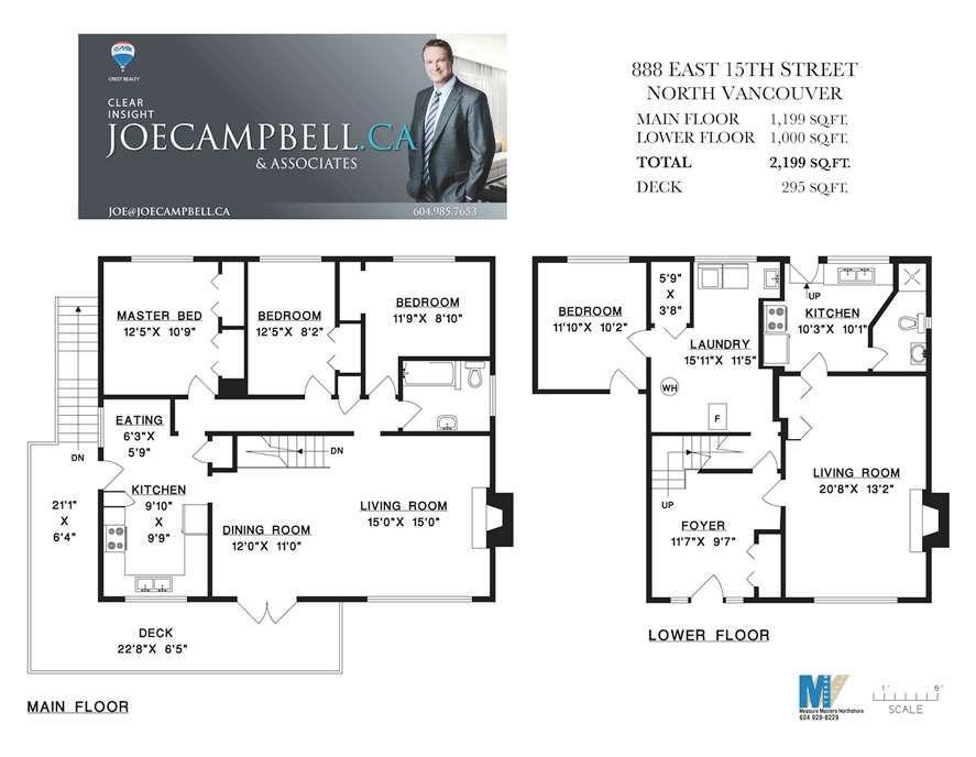888 East 15th Street Floorplan