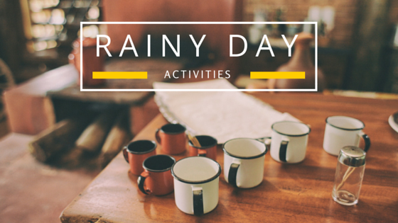 Rainy Day Activities Banner
